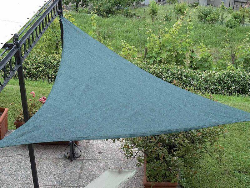 sun sail triangular shading net