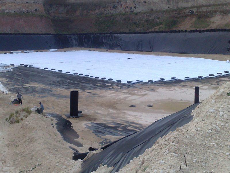 Geocompositi drenanti Tenax per discariche e siti contaminati