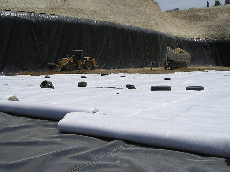 Geocompositi Tenax per il drenaggio di discariche
