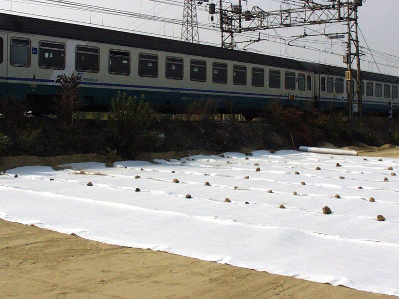 Geogriglie Tenax per il rinforzo di base di ferrovie