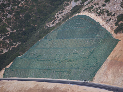 Geostuoia tridimensionale per il controllo dell'erosione Tenax Multimat