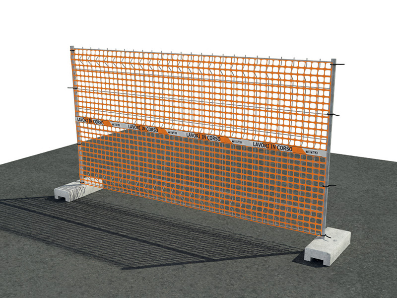 Sentry Lw Safety Fence And Warning Barriers Tenax