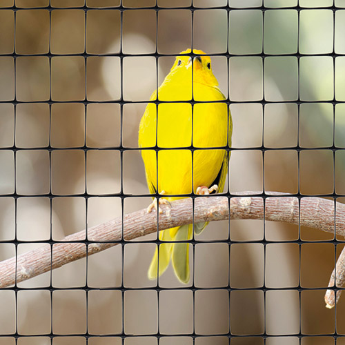 plastic mesh fence for bird cages and aviaries