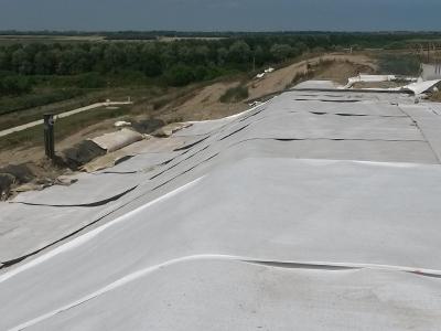 Geocomposito High Drainage per capping discariche Tenax HD