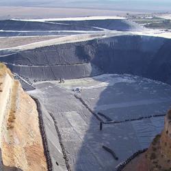 Tenax geocomposites for drainage in landfills