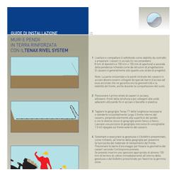 Procedura di posa terre rinforzate Sistema Tenax Rivel