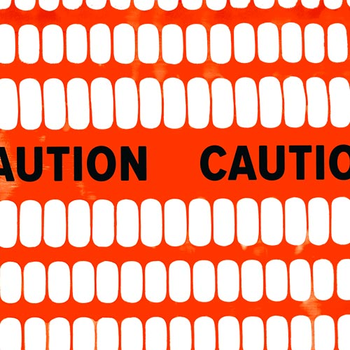 Tenax Caution orange safety fence